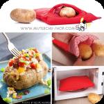 Express Potato ถุงอบมันฝรั่งใน 4 นาที