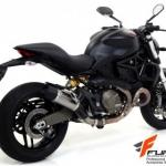 ท่อ Arrow Titanium Jet Race for Ducati Monster 821