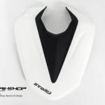 ครอบเบาะ Storm ขาวดำ สำหรับ Yamaha M-slaz