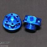 น็อตน้ำมันเกียวละเอียด MOTH สีน้ำเงิน FOR HONDA CBR1000RR