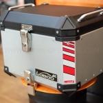 กล่องบน LOBOO GEN3 45L สีเงิน 1ใบ พร้อมชุดยึดบน FOR HONDA CB500X