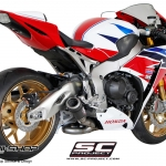 ท่อ SC Project CR-T SILENCER - LOW POSITION FOR CBR1000RR FOR CBR1000RR