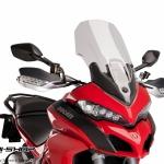ชิว Puig ทรง Touring สีใส สำหรับ Ducati Multistrada 1200 (2015)