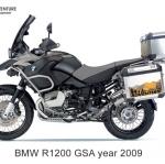 ปี๊บบน 40L พร้อมเพลท K2 PRO 40L FOR BMW R1200GS