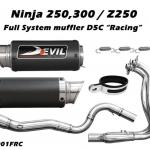 ท่อ DEVIL EVOLUTION รุ่น 1001FRC FULLSYSTEM FOR KAWASAKI NINJA250-300/Z250 (2013UP)