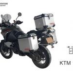 ปี๊บบน พร้อมเพลท K2 PRO 40L FOR KTM 1190 ADV