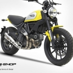ท่อ Zard Full system สำหรับรุ่น Ducati Scrambler