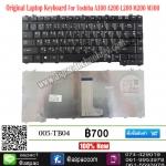 Keyboard A300 A200 A205 A215 M200 M300 M500 L310 L510 สีดำ TH-EN
