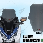 ชิวหน้า HERO V2 FOR HONDA FORZA300 2018