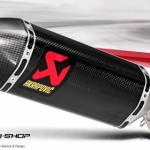 ท่อ AKRAPOVIC CARBON SLIP-ON FOR KAWASAKI ZX10R