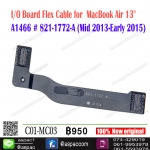 "I/O Board Flex Cable for MacBook Air 13"" A1466 # 821-1722-A (Mid 2013-Early 2015)"