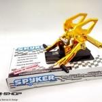 เกียร์โยง Spyker สีทอง Z125