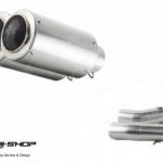 ท่อ PR2 RFB Z1000 ท่อคู่ SLIPON STAINLESS