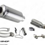 PR2 MOTO GP FORZA300 SLIPON STAINLESS