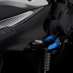ตีนเป็ด BIKERS สีน้ำเงิน FOR YAMAHA AEROX155