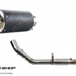 ท่อ PR2 RFG CB500 R F X FULL SYSTEM KEVLAR