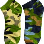LS-0017 ถุงเท้าลายทหาร