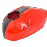 ครอบถัง MOTOZAAA สีแดง FOR HONDA REBEL