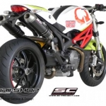 ท่อ SC PROJECT GP EVO Carbon for Ducati Monster795-796