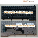 Dell Keyboard คีย์บอร์ด Latitude E6320 E6420 E5420 XT3 ภาษาไทย อังกฤษ