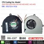 Fan CPU For ASUS K43T A53U X53U X53B X43B