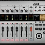 THE ZOOM R24 Recorder : Interface : Controller : Sampler