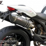 ท่อ SC PROJECT OVAL Carbon for Ducati Monster795-796