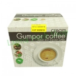 กระชายดำสกัดในรูปของกาแฟปรุงสำเร็จ 4 in 1 กัมปอ Gumpor Coffee Cream [สูตรครีม] ใส่ครีมเทียมและครีมถั่วเหลือง