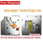 PowerBook DVD RW DRIVE IDE SLOT LOADING AW-G630A