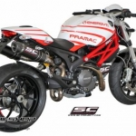ท่อ SC PROJECT GP TECH Carbon for Ducati Monster795-796