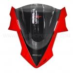 ชิวหน้า MOTOZAAA AIRROCK สีแดง HONDA CBR650F