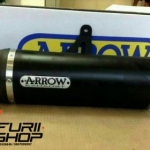 Arrow slipon dark carbon สำหรับ Honda Africa twin