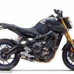 ท่อ Two Brother Carbon fullsystem for Yamaha FZ-09 - MT-09