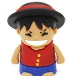 แฟลชไดร์ฟลูฟี่ จากการ์ตูน วันพีช (Luffy One Piece) ความจุ 8 GB
