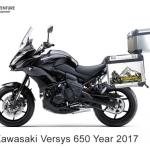 ปี๊บบน แร็ค & เพลท K2 PRO 40L FOR KAWASAKI VERSYS650