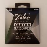 สายกีตาร์ไฟฟ้า ZIKO No.10
