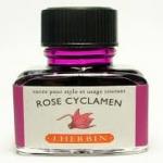 หมึก D Ink 30ml. J.Herbin - สีม่วงสว่าง Rose Cyclamen 66