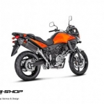 ท่อ AKRAPOVIC SLIP-ON FOR SUZUKI V-STROM 650 (2014)