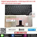 Keyboard LENOVO ideapad S10-3 S10-3S S100 M13 S205 U160 (Black Frame)