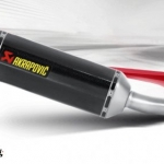 Akrapovic slip on carbon