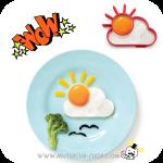 ซิลิโคนทำไข่ดาว Sun&Cloud