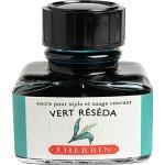 หมึก D Ink 30ml. J.Herbin - สีมรกต Vert Reseda 38