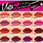 L.A. Girl Matte Pigment Gloss สี Fleur 5g.