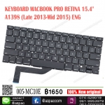 "KEYBOARD MACBOOK PRO RETINA 15.4"" A1398 (Late 2013-Mid 2015) ENG"