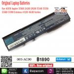 Original Battery For ACER Aspire 5560 2420 2920 5540 5550 5560 5590 Extensa 4120 4630 Series, TravelMate 2