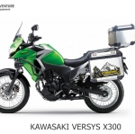 ปี๊บบน พร้อมแร็คและเพลท K2 PRO 28L, 40L FOR KAWASAKI VERSYS X300