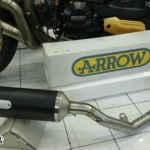 ท่อ ARROW RACETECH DARK CARBON FULL-SYSTEM FOR KAWASAKI Z900