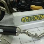 Arrow full Racetech Dark carbon
