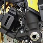 การ์ดปั๊มหน้า SRC สีดำ FOR SUZUKI V-STROM1000