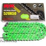 โซ่RK Oring 520 สีเขียว